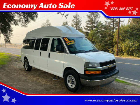 2011 Chevrolet Express Passenger for sale at Economy Auto Sale in Modesto CA