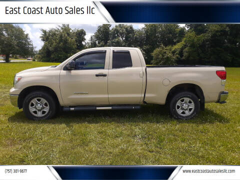 2012 Toyota Tundra for sale at East Coast Auto Sales llc in Virginia Beach VA
