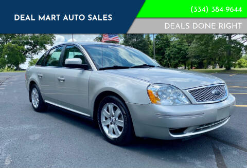 2007 Ford Five Hundred for sale at Deal Mart Auto Sales in Phenix City AL
