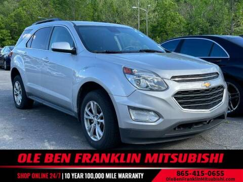 2017 Chevrolet Equinox for sale at Ole Ben Franklin Mitsbishi in Oak Ridge TN