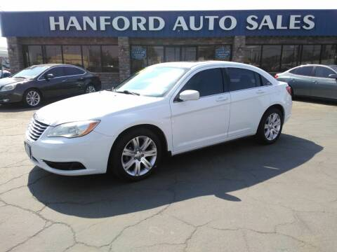 2012 Chrysler 200 for sale at Hanford Auto Sales in Hanford CA