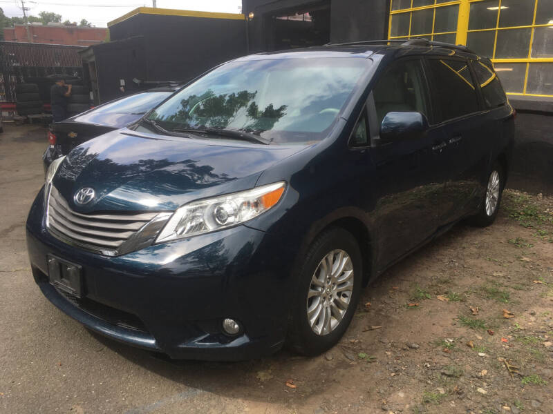 2011 Toyota Sienna for sale at MELILLO MOTORS INC in North Haven CT