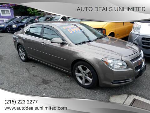 2012 Chevrolet Malibu for sale at AUTO DEALS UNLIMITED in Philadelphia PA