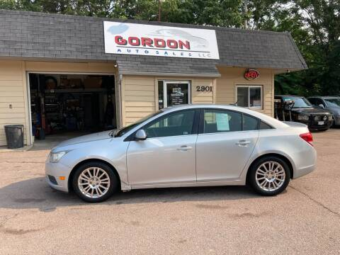 2011 Chevrolet Cruze for sale at Gordon Auto Sales LLC in Sioux City IA