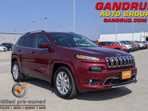 2018 Jeep Cherokee for sale at Gandrud Dodge in Green Bay WI