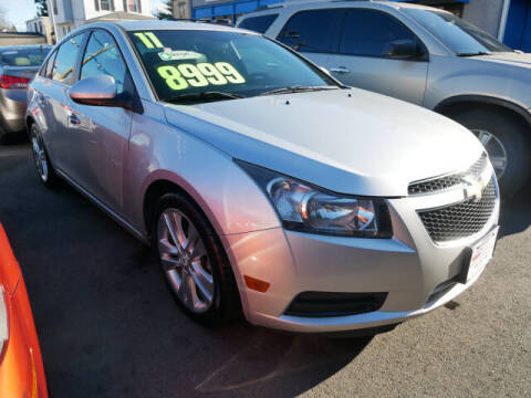 2011 Chevrolet Cruze for sale at M & R Auto Sales INC. in North Plainfield NJ