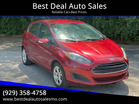2015 Ford Fiesta for sale at Best Deal Auto Sales in Saint Charles MO