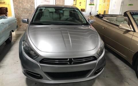 2016 Dodge Dart for sale at Auto Credit & Finance Corp. in Miami FL