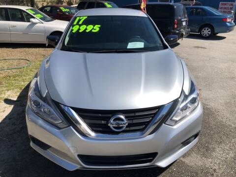 2017 Nissan Altima for sale at County Line Car Sales Inc. in Delco NC