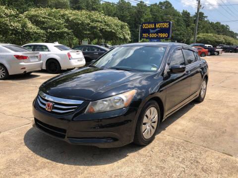 2012 Honda Accord for sale at Oceana Motors in Virginia Beach VA