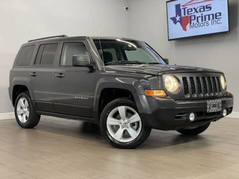 2016 Jeep Patriot for sale at Texas Prime Motors in Houston TX