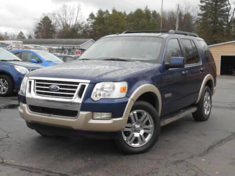 2008 Ford Explorer for sale at MT MORRIS AUTO SALES INC in Mount Morris MI