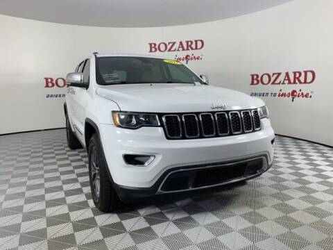 2017 Jeep Grand Cherokee for sale at BOZARD FORD in Saint Augustine FL