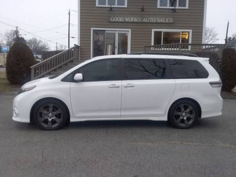 2017 Toyota Sienna for sale at Good Works Auto Sales INC in Ashland MA