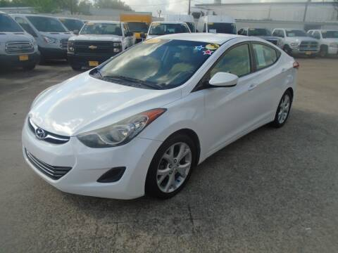 2013 Hyundai Elantra for sale at BAS MOTORS in Houston TX
