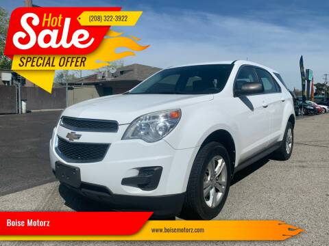 2012 Chevrolet Equinox for sale at Boise Motorz in Boise ID