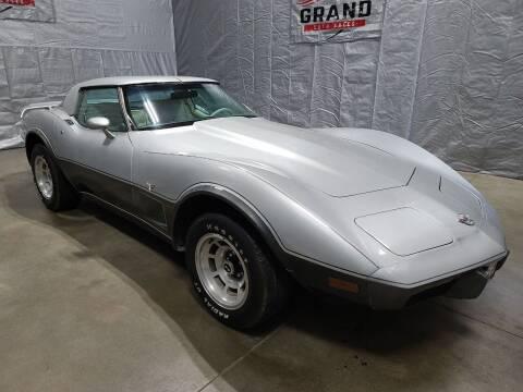 1978 Chevrolet Corvette for sale at GRAND AUTO SALES in Grand Island NE