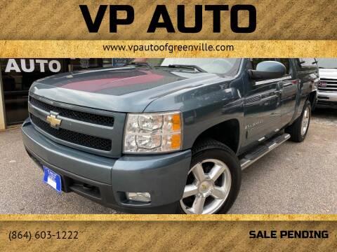 2008 Chevrolet Silverado 1500 for sale at VP Auto in Greenville SC
