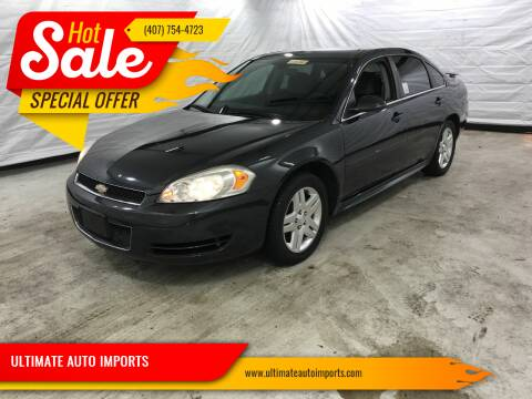 2012 Chevrolet Impala for sale at ULTIMATE AUTO IMPORTS in Longwood FL