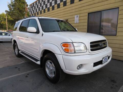 2002 Toyota Sequoia for sale at KAS Auto Sales in Sacramento CA