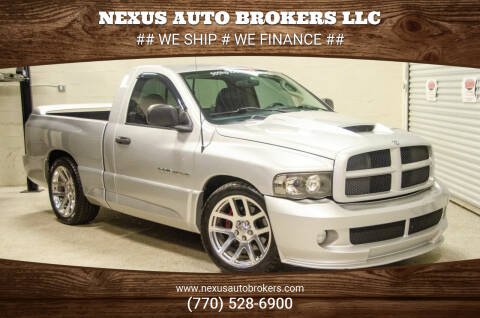 2004 Dodge Ram Pickup 1500 SRT-10 for sale at Nexus Auto Brokers LLC in Marietta GA