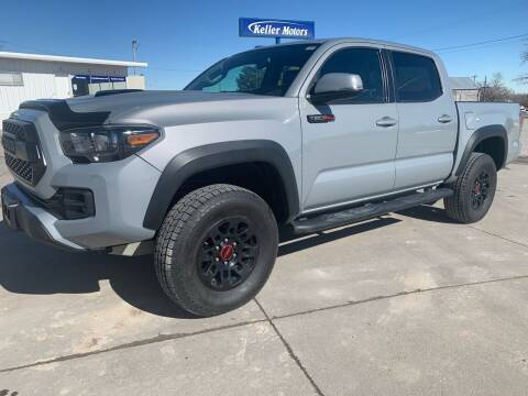 2017 Toyota Tacoma for sale at Keller Motors in Palco KS