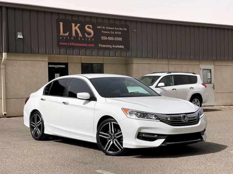 2017 Honda Accord for sale at LKS Auto Sales in Fresno CA
