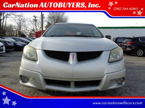 2003 Pontiac Vibe for sale at CarNation AUTOBUYERS, Inc. in Rockville Centre NY