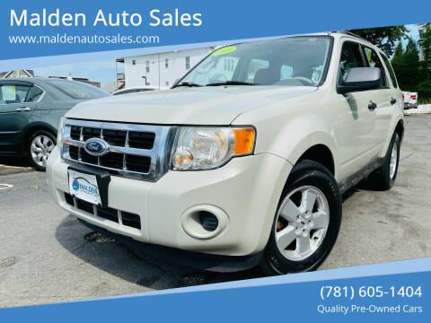 2009 Ford Escape for sale at Malden Auto Sales in Malden MA