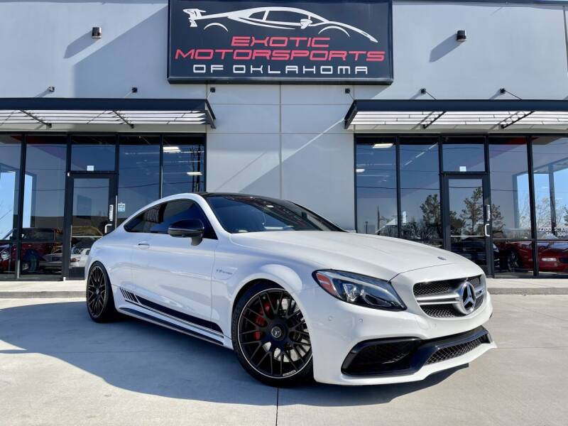 2017 Mercedes-Benz C-Class for sale at Exotic Motorsports of Oklahoma in Edmond OK
