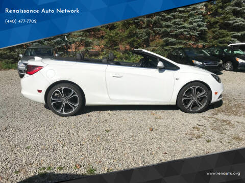 2016 Buick Cascada for sale at Renaissance Auto Network in Warrensville Heights OH