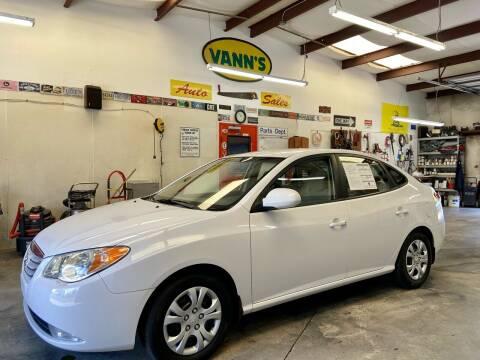 2010 Hyundai Elantra for sale at Vanns Auto Sales in Goldsboro NC