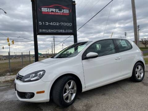 2012 Volkswagen Golf for sale at SIRIUS MOTORS INC in Monroe OH