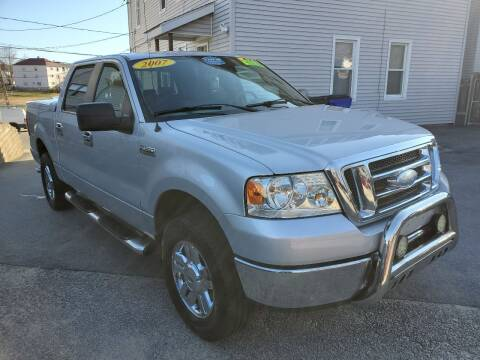 2007 Ford F-150 for sale at Fortier's Auto Sales & Svc in Fall River MA