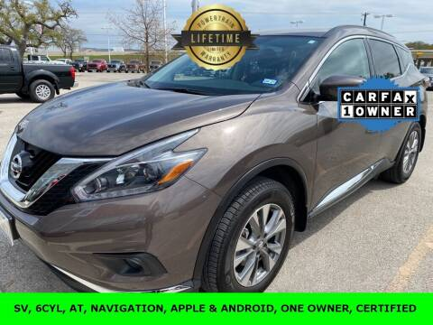 2018 Nissan Murano for sale at Nissan of Boerne in Boerne TX