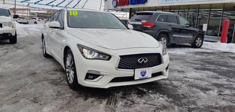 2018 Infiniti Q50 for sale at I-80 Auto Sales in Hazel Crest IL