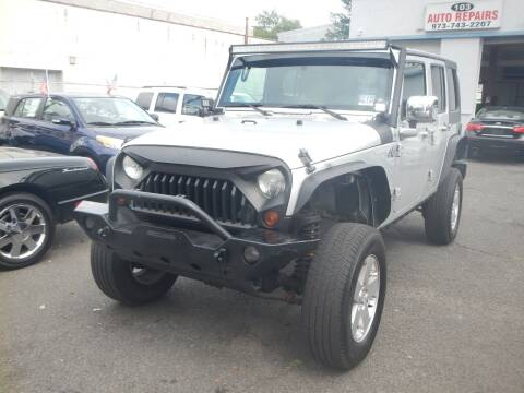 2009 Jeep Wrangler Unlimited for sale at 103 Auto Sales in Bloomfield NJ