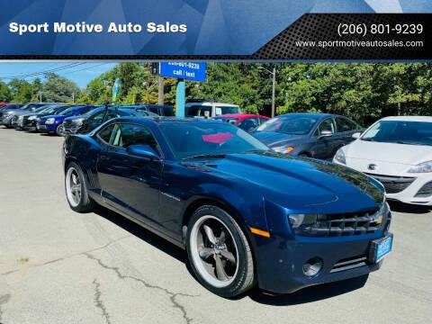 2011 Chevrolet Camaro for sale at Sport Motive Auto Sales in Seattle WA
