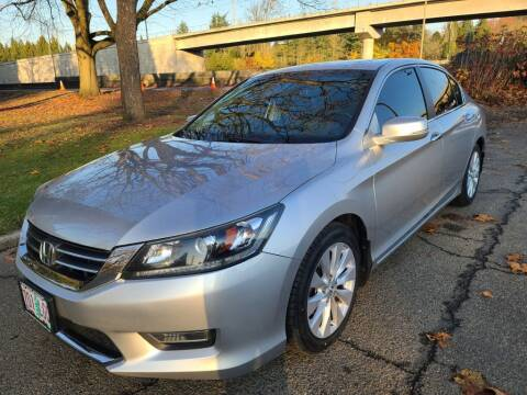 2013 Honda Accord for sale at EXECUTIVE AUTOSPORT in Portland OR
