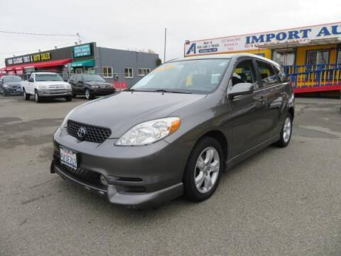 2004 Toyota Matrix for sale at Import Auto World in Hayward CA