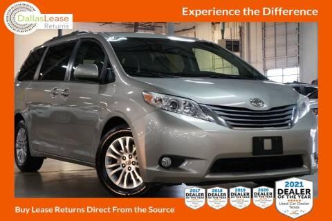 2015 Toyota Sienna for sale at Dallas Auto Finance in Dallas TX