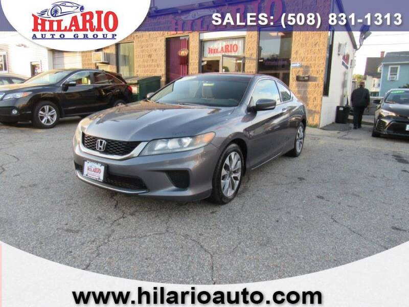 2013 Honda Accord for sale at Hilario's Auto Sales in Worcester MA