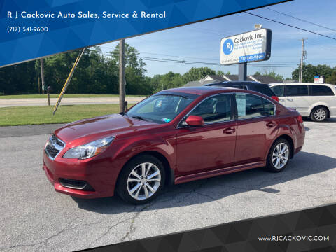 2014 Subaru Legacy for sale at R J Cackovic Auto Sales, Service & Rental in Harrisburg PA
