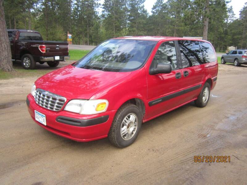 1997 Chevrolet Venture for sale at SUNNYBROOK USED CARS in Menahga MN