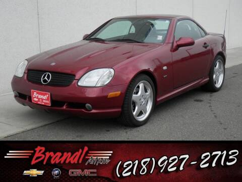 1999 Mercedes-Benz SLK for sale at Brandl GM in Aitkin MN