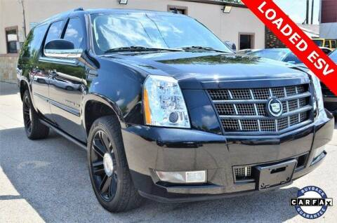 2012 Cadillac Escalade ESV for sale at LAKESIDE MOTORS, INC. in Sachse TX