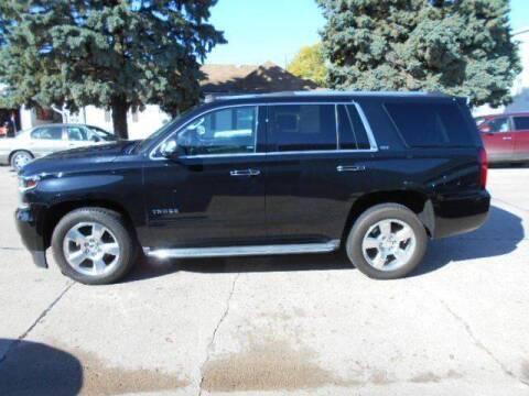 2015 Chevrolet Tahoe for sale at Creighton Auto & Body Shop in Creighton NE