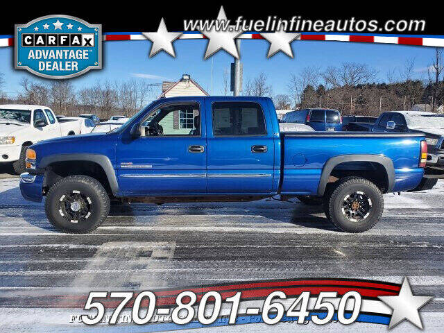 2004 GMC Sierra 2500HD for sale at FUELIN FINE AUTO SALES INC in Saylorsburg PA