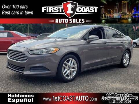 2013 Ford Fusion for sale at 1st Coast Auto -Cassat Avenue in Jacksonville FL
