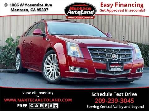 2011 Cadillac CTS for sale at Manteca Auto Land in Manteca CA